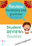 Spanish vocabulary booklet beginners