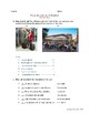 Spanish vocabulary quiz: Plaza and tourists