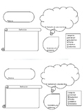 Spanish vocabulary word graphic organizer