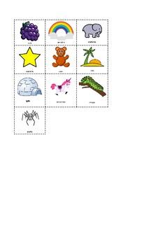 Spanish vowels chart+worksheet.Cartel del abecedario en español +hoja de trabajo