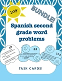 Spanish word problems for the entire year (2.4C/2.4D and 2