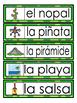 Spanish word wall - Mexico