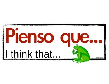 Spanish word wall, phrase of the week, frequent sayings