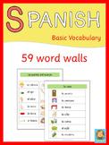 Spanish Word Walls  Basic Vocabulary