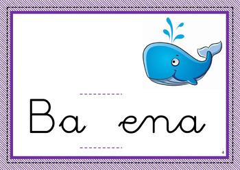 Spanish words - Ortografía y Gramática Bundle { B-V // G-J // LL-Y // M-N }