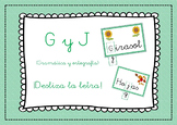 Spanish words - Ortografía y Gramática Bundle { B-V // G-J // LL-Y // M-N }