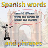 Spanish words and phrases