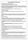Spanish writing correction guide