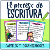 Spanish writing process posters and graphic organizers / P