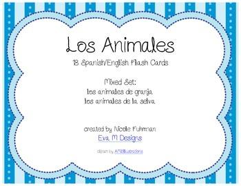 Spanish/English Animal Flashcards