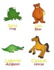 Spanish/English Animal Picture Vocabulary Speech Therapy