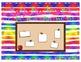Spanish/English Classroom Vocabulary Bulletin Board