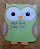 Bilingual Owl Birthday Display {EDITABLE}
