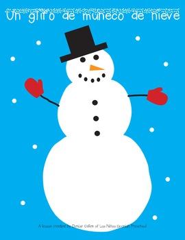 Spanish/English Snowman Glyph