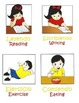 Spanish/English Vocabulary Actions & Descriptives Speech Therapy