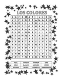 Spanish/Espanol Word Search