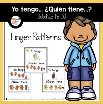 Spanish: Yo tengo... ¿Quién tiene...? Subitize: Finger Patterns to 30