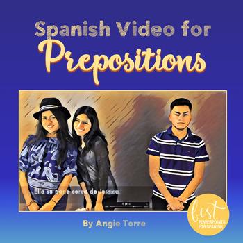 Spanish Prepositions of Location Las preposiciones Video