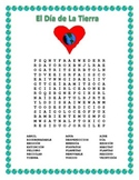 Spanish Earth Day- Word Search & Double Puzzle-Dia de la Tierra