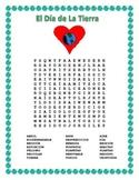 Spanish Earth Day- Word Search & Double Puzzle-Dia de la Tierra