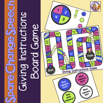 Spare Change Speech: Giving Instructions Board Game