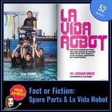 Spare Parts:  Fact or Fiction Worksheet / La Vida Robot Article