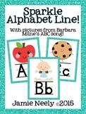 Sparkle Alphabet Line