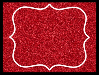 Sparkle Classroom Theme Pack Red