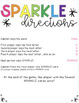 Sparkle Game - Dolch Sight Words
