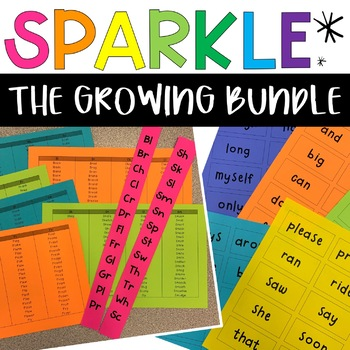 Sparkle Game - The GROWING Bundle