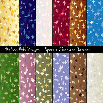 Sparkle Gradient Background Patterns