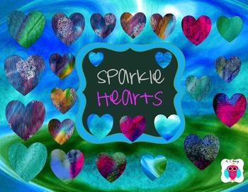Sparkle Heart Clip Art