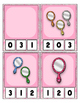 Sparkle Mirrors Counting 0 to 20 clip Cards for preschool