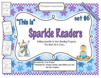Sparkle Readers (Set #6)
