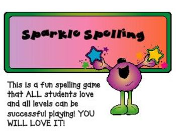 Sparkle Spelling