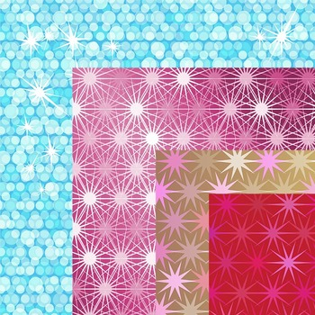Digital Background / Paper Clip Art: Sparkle & glittery