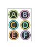 Sparkling Alphabet Labels