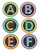 Sparkling Alphabet Labels