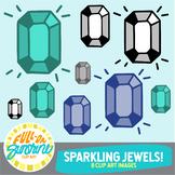 Sparkling Jewels [Full-On Sunshine Clip Art]