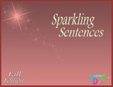 Sparkling Sentences Fall Edition - Writing with Voice and Better Word Choice