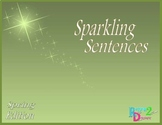 Sparkling Sentences Spring Edition - Writing with Voice an