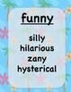 Sparkling Synonyms