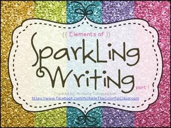 Sparkling Writing: Teaching Compositional Risks {part 1}