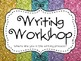 Sparkling Writing: Writing Workshop Clip Chart