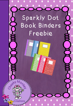 Sparkly Glitter Book Covers