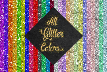 Lips Clipart, Sparkly Glittery Lips, Glitz Clipart, Rainbow Color Palette