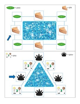 Sparkly Shapes for Apraxia