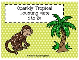 Sparkly Tropical Counting Mats
