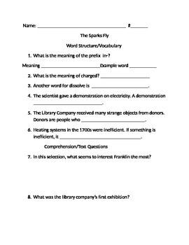 Sparks Fly. Challenge Imagine it! Test