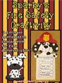 Sparky's Fire Safety Craftivity